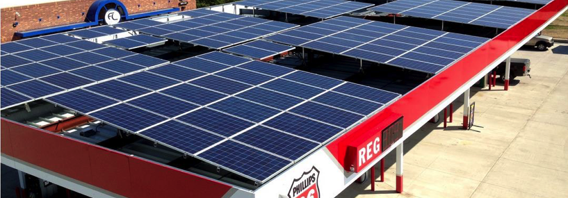 Gas Station Solar Canopy Solar Panels Or Gas Amp Service
